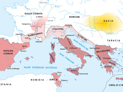 a history of the roman republic from 510 44 bc The history of roman empire began after the 500-year old roman republic destabilized and weakened due to civil wars (44 bc), the battle of actium (31 bc).