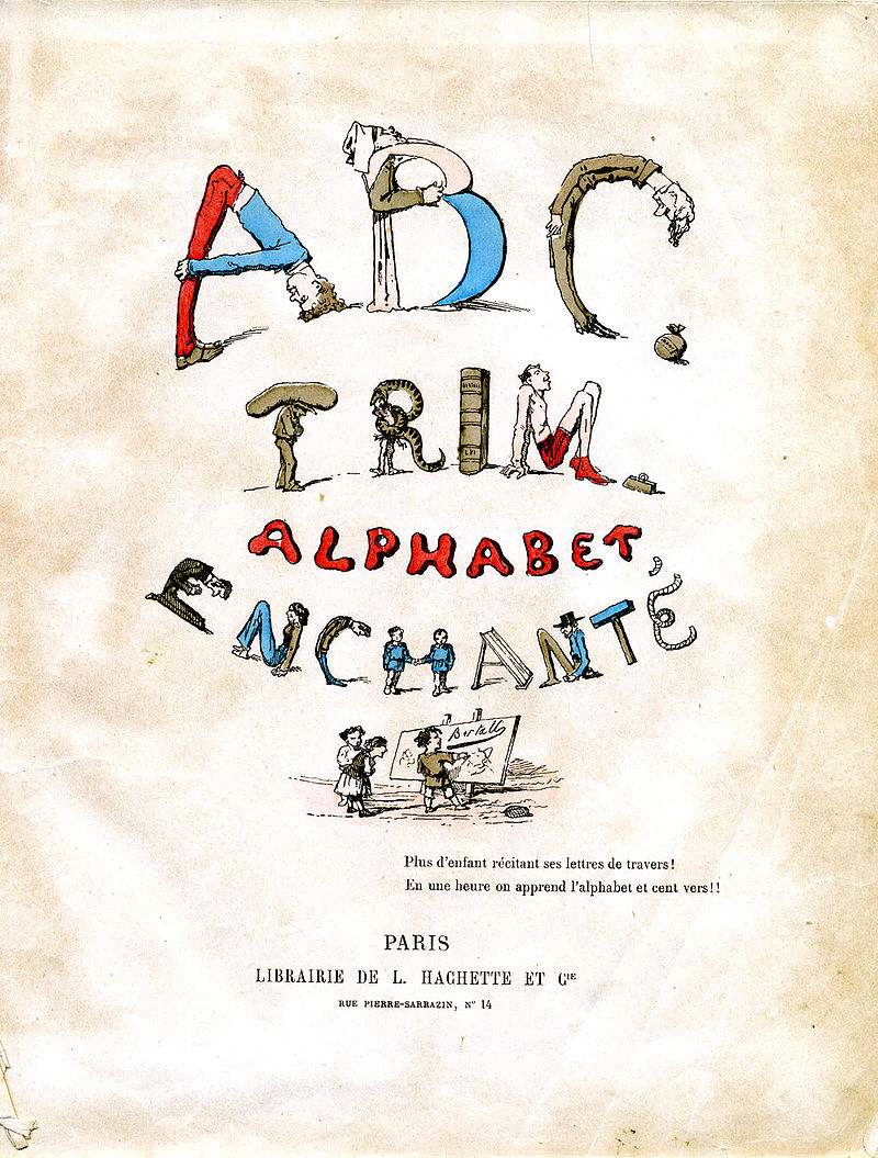 A French ABC-book printed in 1861 - Stories Preschool